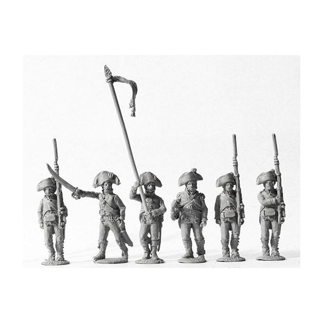 3rd battalion v. Schaeffer, command (jaegers) 1806-07