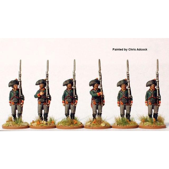 3rd battalion v. Schaeffer,   marching (jaegers) 1806-07