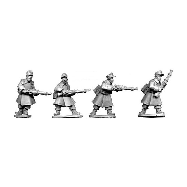 German Riflemen in Greatcoats (4)