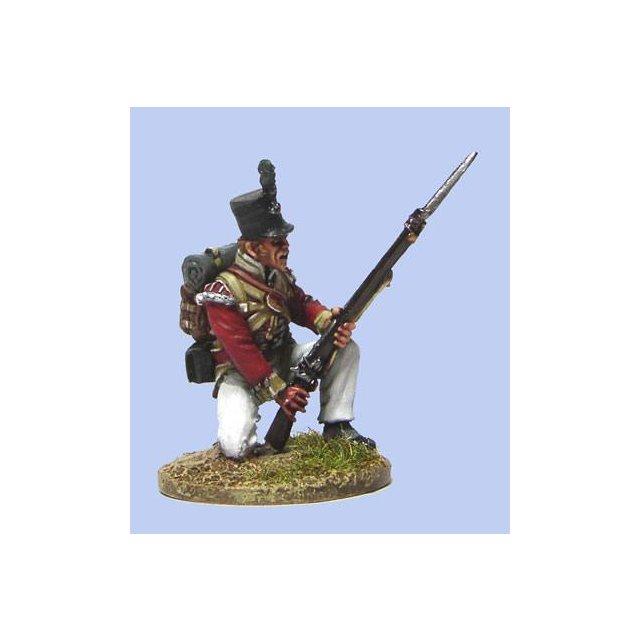 British Light Infantryman kneeling,NewLand Pattern musket