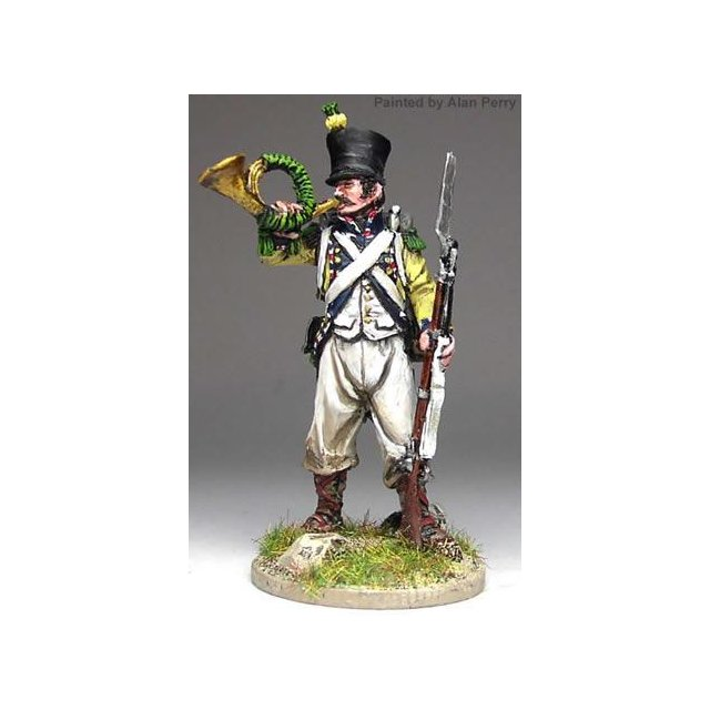 French Voltigeur Cornet standing, in habit