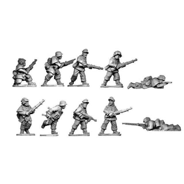 Late War German Infantry Section II (in smocks) (10)
