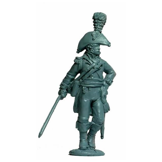 British Line Officer advancing