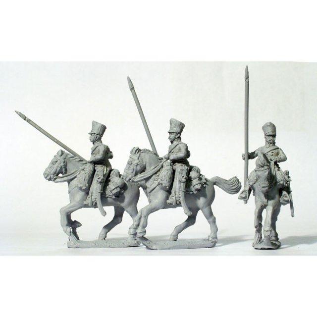 Line Uhlans in Kollett, galloping, lance upright