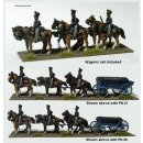 Six wheeled , two horse ammunition wagon