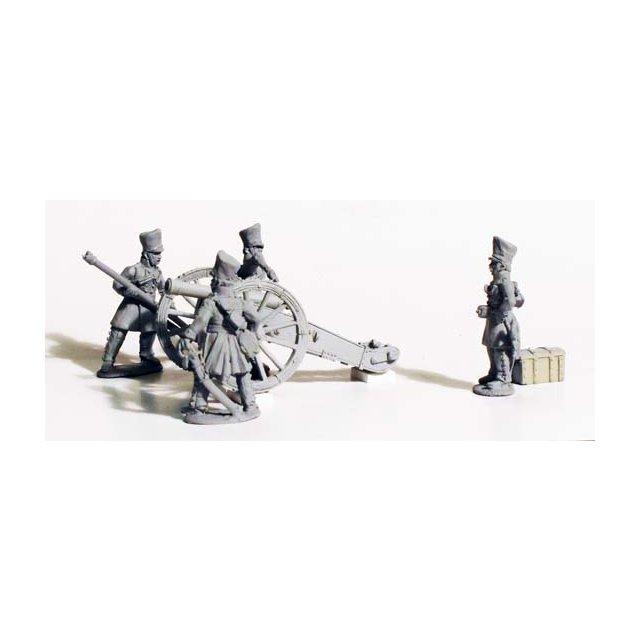 Horse Artillery firing 6pdr