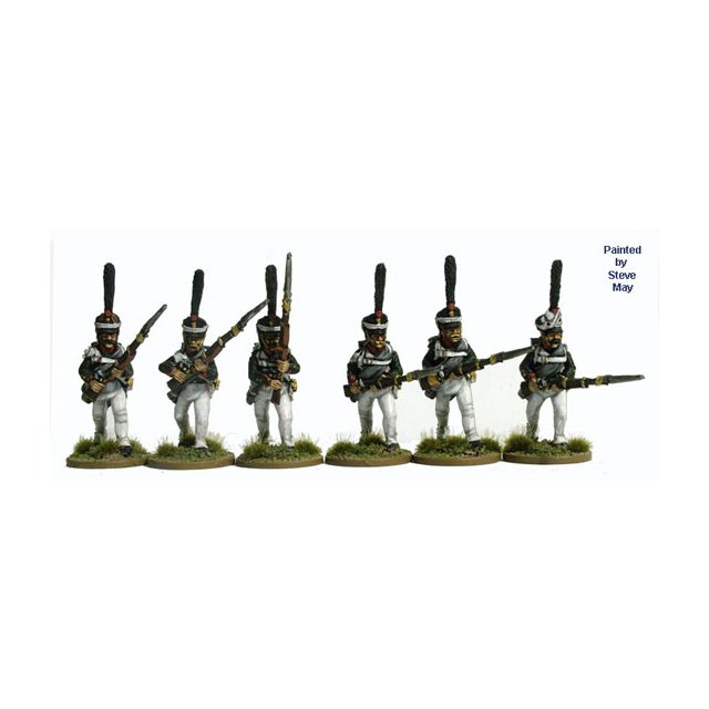 Grenadiers attacking, summer dress (1812 Kiwer)