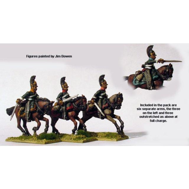 Dragoons attacking (1812-14)
