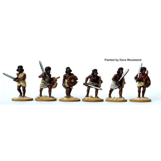Beja Swordsmen advancing