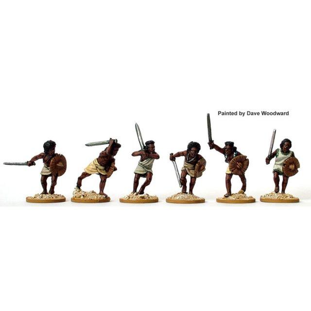 Beja Swordsmen charging