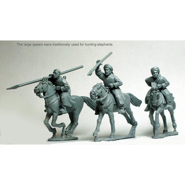 Baggara Horse with spears/javelins
