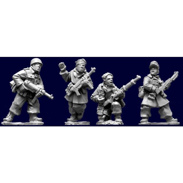 Fallschirmjager Characters. (4)