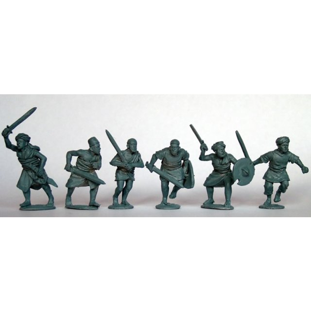 Kordofan Swordsmen advancing/attacking