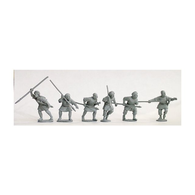 Late war ansar spearmen attacking, jibbeh and turbans/skull caps