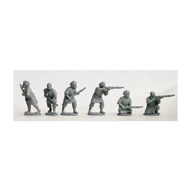 Late war ansar riflemen, jibbehs and turbans/skull caps
