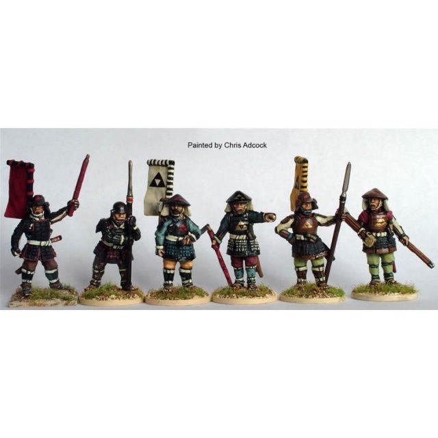 Ashigaru Command, standing