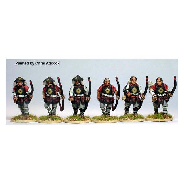 Ashigaru archers, advancing