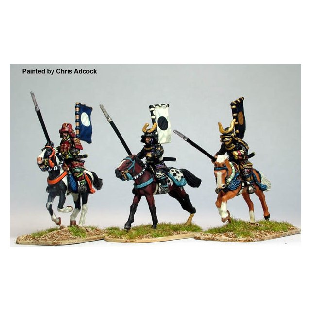 Mounted Samurai with Yari, charging 2