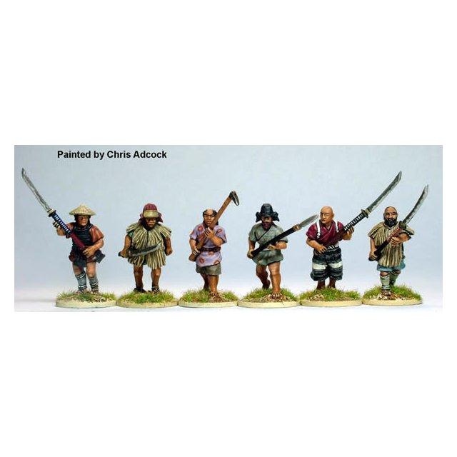 Ikko-Ikki advancing ,mixed weapons