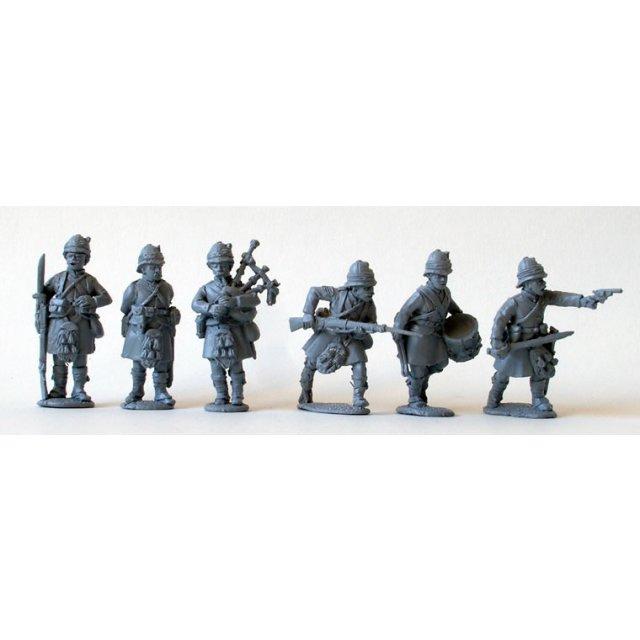 Black Watch Highlander command,