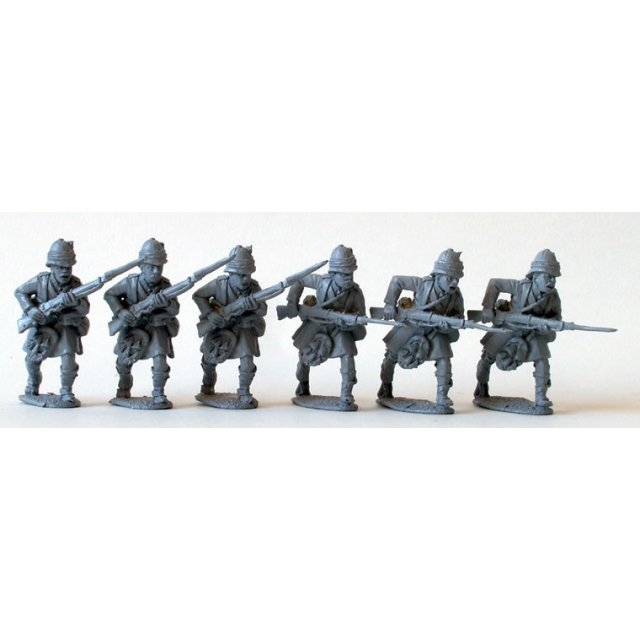 Black Watch Highlanders, charging