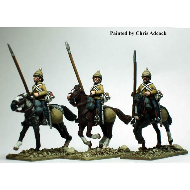 10th Hussars with improvised lances