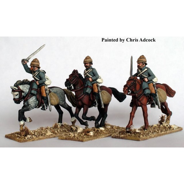 19th Hussars charging with swords
