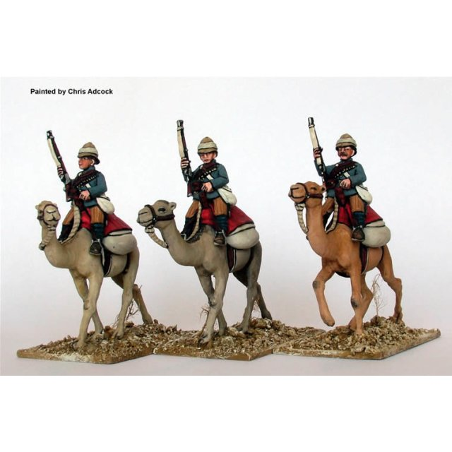 British Camel Corps,rifles on hips