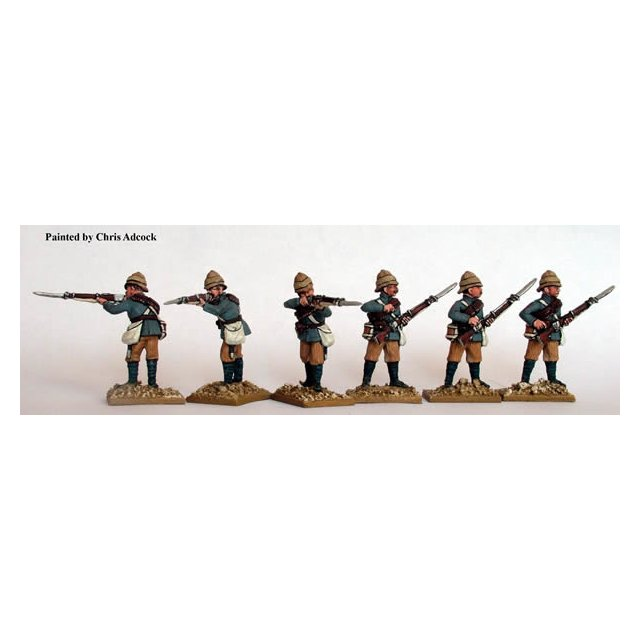 Dismounted Camel Corp/ Mounted infanry firing line