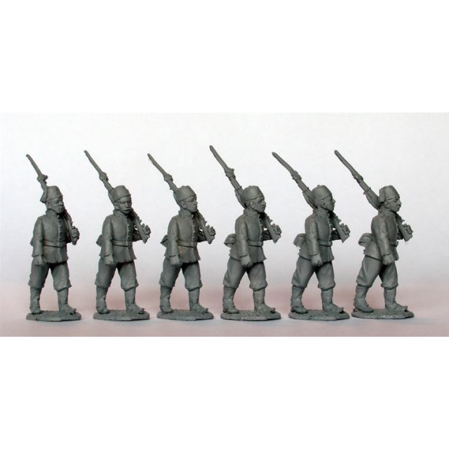 Egyptian Infantry marching