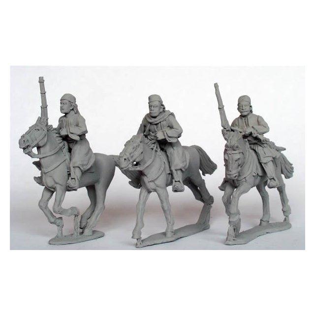 Mounted Bashi-Bazouks with carbines