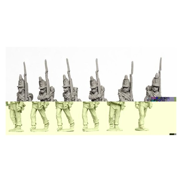 Line Infantry Grenadiers marching 1812-15