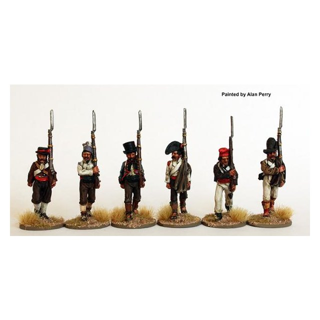 Fusiliers marching in part uniforms and civilian clothing (2) 18