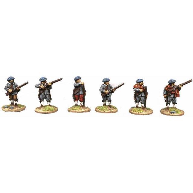 Musketeers, loading