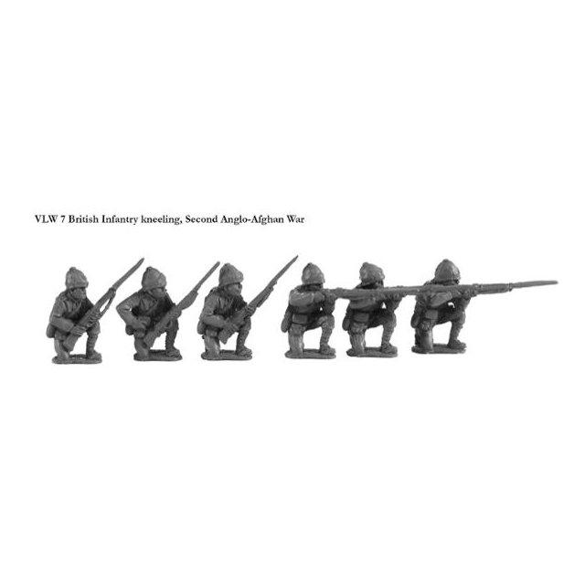 Brtish Infantry kneeling, Second Anglo-Afghan War