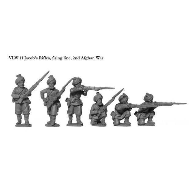 Jacobs Rifles, firing line, 2nd Afghan War