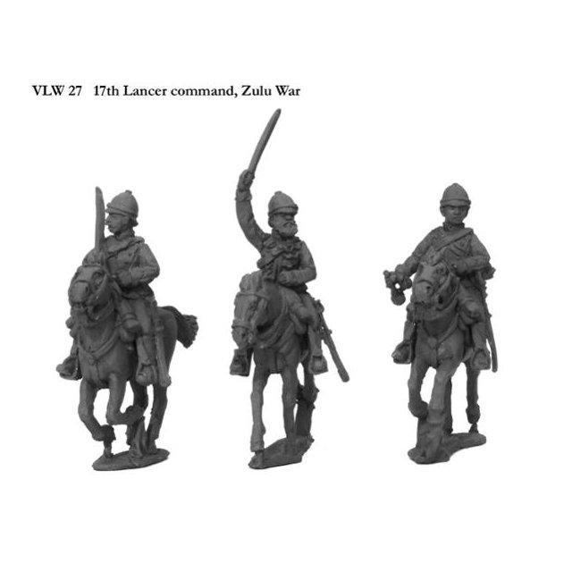 17th Lancer command, Zulu War