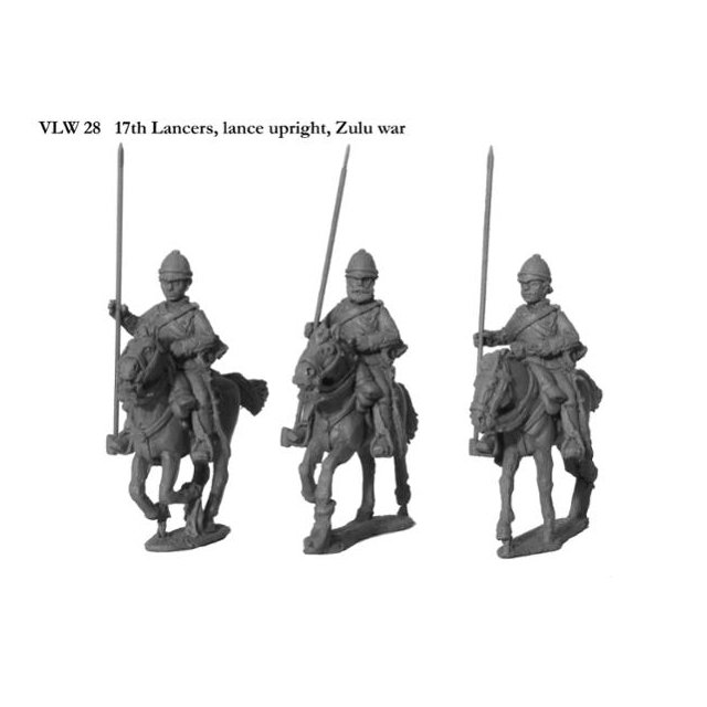 17th Lancers, lances upright