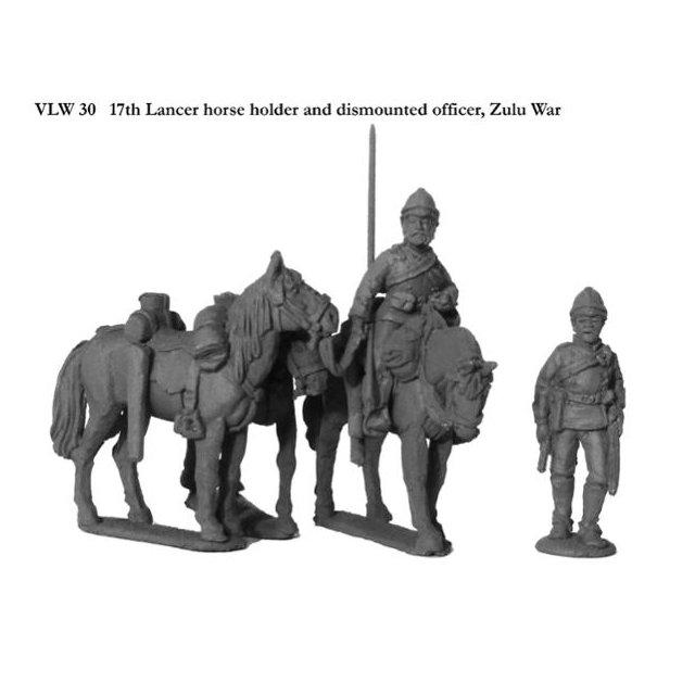 17th Lancer horse holder