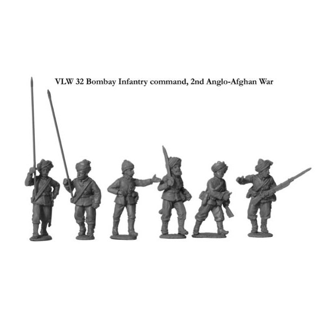 Bombay Infantry command, 2nd Afghan War