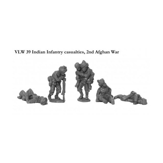 Indian Infantry casualties