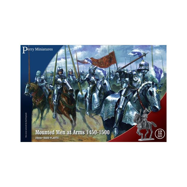 Mounted Men at Arms 1450-1500 (12)