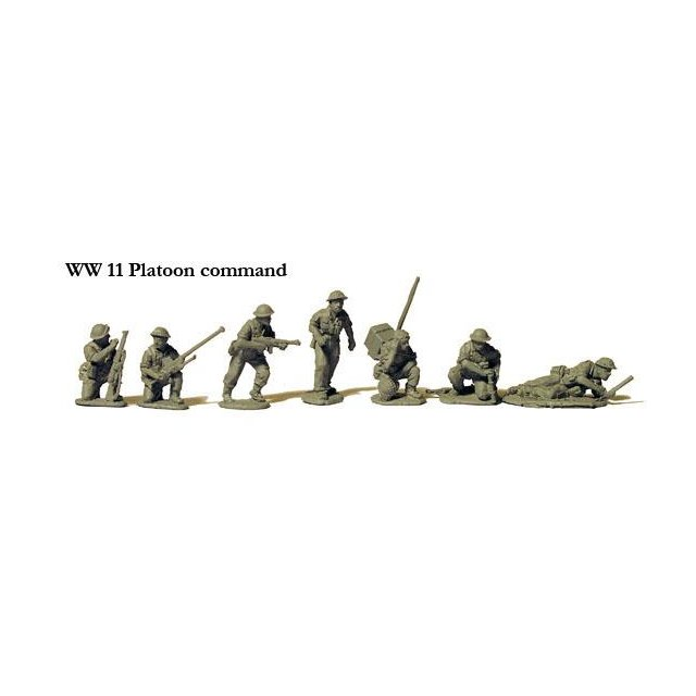 Platoon command in BD trousers