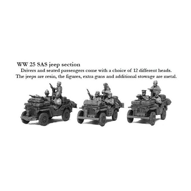 SAS Jeep Section