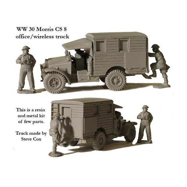 Morris CS8 office/wireless truck