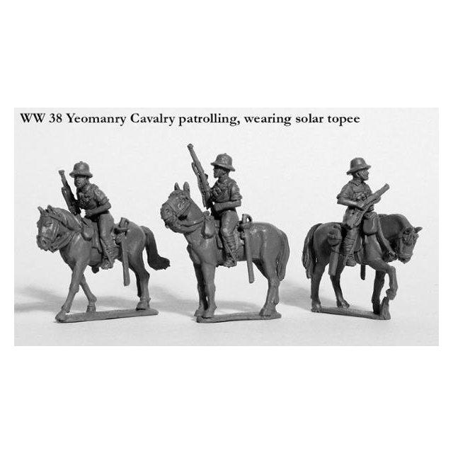 Yeomanry Cavalry, patrolling