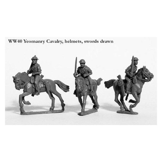 Yeomanry Cavalry charging