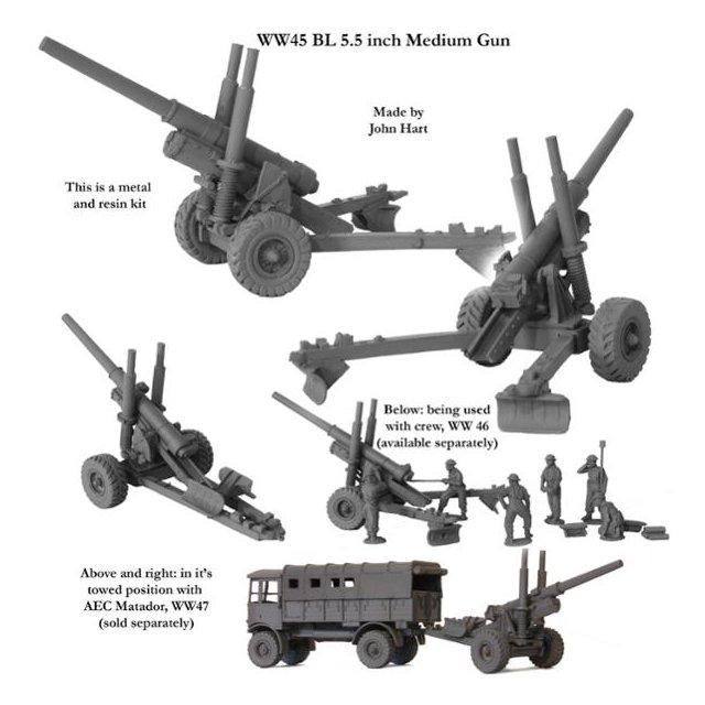 BL 5.5inch Medium Gun