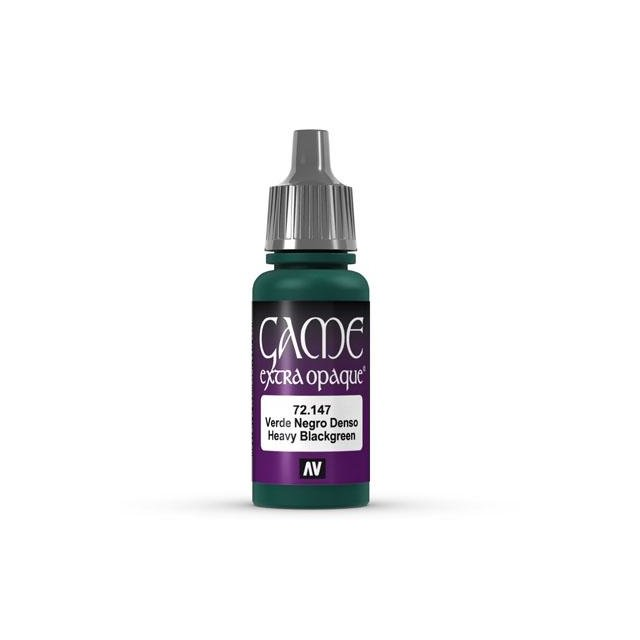 Game Color Extra Opaque Heavy Blackgreen 17 ml