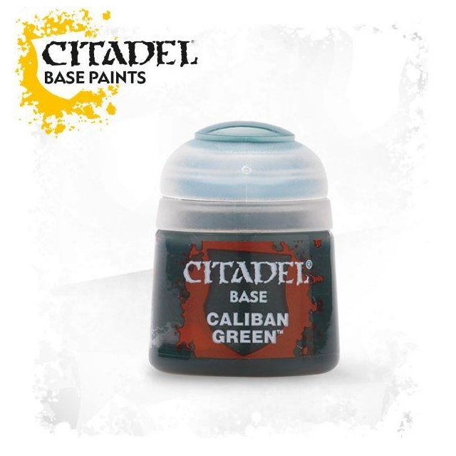 Citadel Base: CALIBAN GREEN 21-12